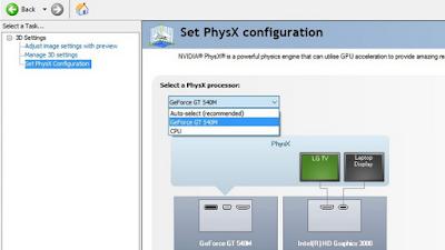 physx nvidia processor