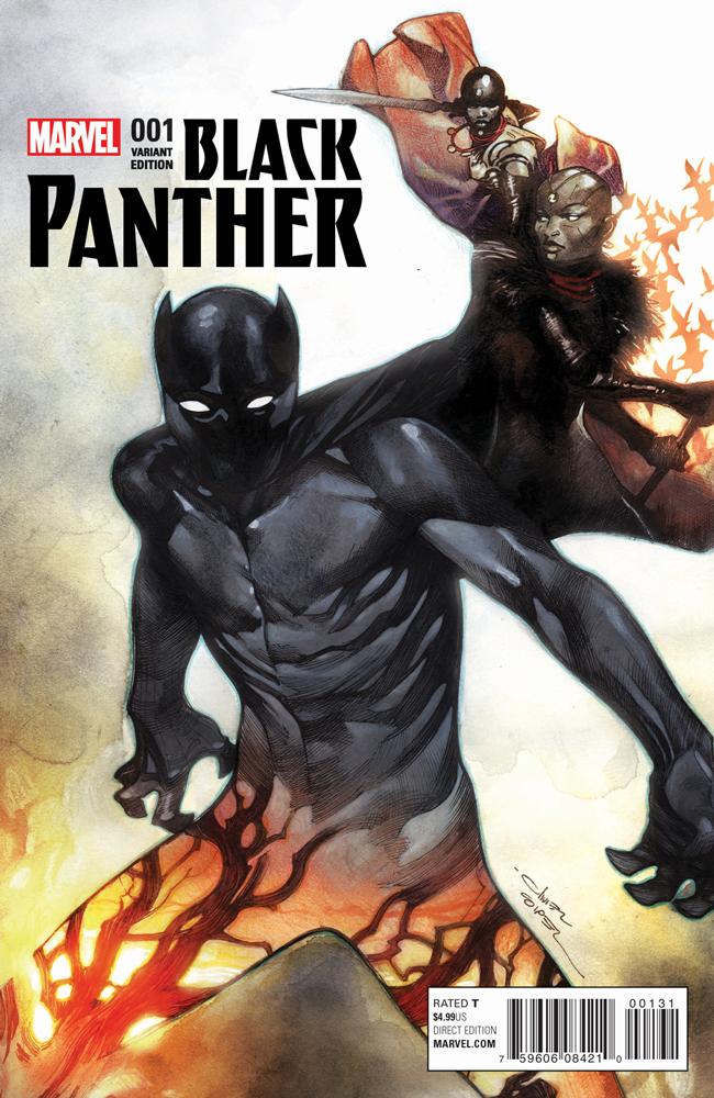 BLACK PANTHER #1 COIPEL VARIANT (FEB160738)