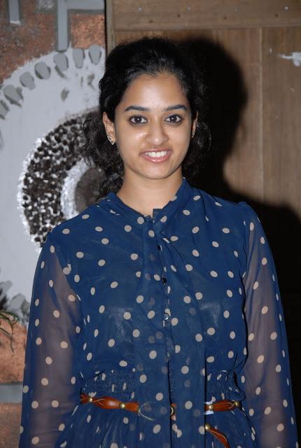 Telugu Actress Nandita At Movie Success Meet Navel Queens
