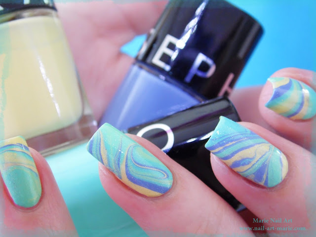 vidéo water marble tropical