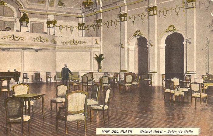 Fotos Viejas de Mar del Plata: HOTEL BRISTOL