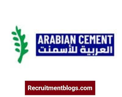 Accountant At Arabian Cement Company
