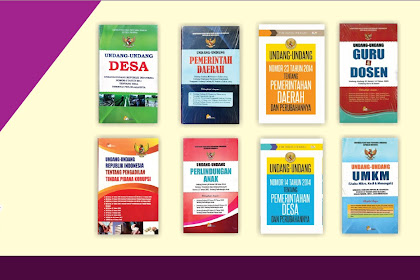Buku Perpustakaan Desa - Buku Hukum & Perundangan