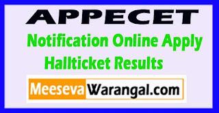 AP Pecet 2017 Exam Hall tickets Download