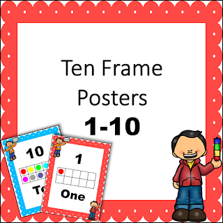 FREE Ten Frame Posters