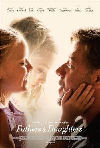 Fathers and Daughters 2015 English 480p BRRip 300mb