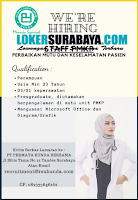 Open Recruitment at PT. Permata Bunda Bersama Surabaya Januari 2020
