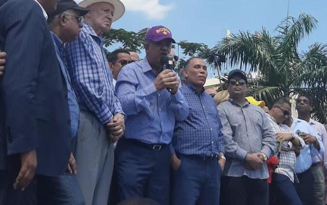 Leonel exige responsables de supuesto fraude sean procesados judicialmente