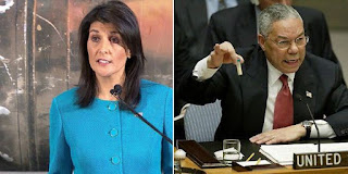 Iranian FM terms Nikki Haley's claim as a 'show'