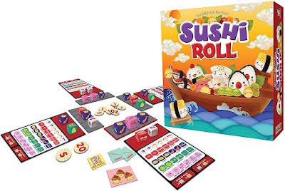 Sushi roll board game