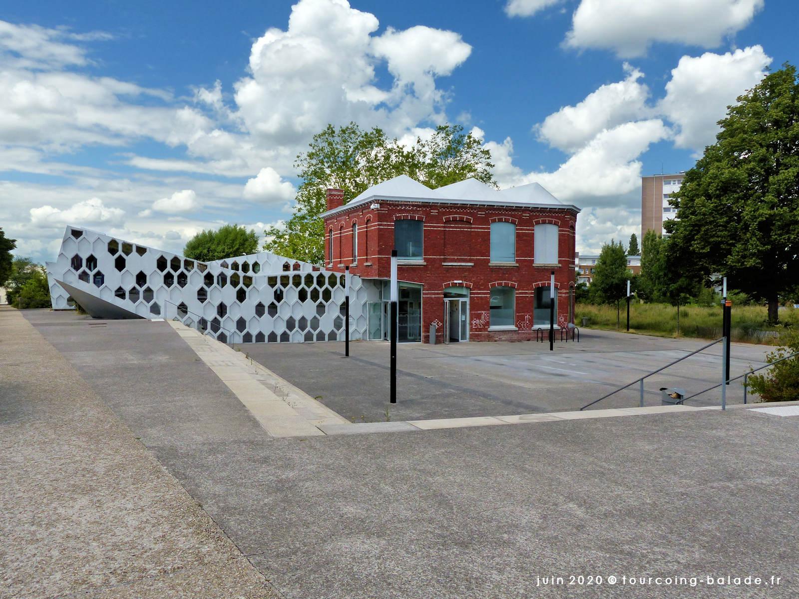 Médiathèque municipale Andrée Chedid, Tourcoing 2020