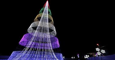 Foto de un árbol de navidad original
