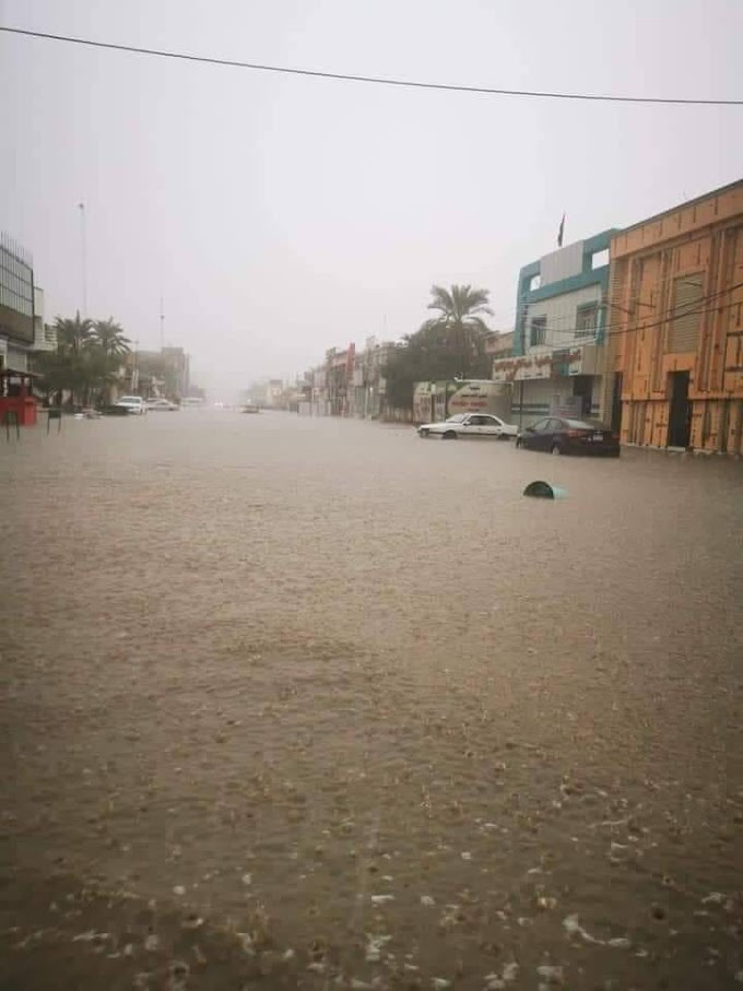 مغربی سسٹم سے غیر معمولی طوفانی بارشوں نے سعودی عرب میں تباہی مچادی !