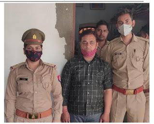 #JaunpurLive : वाहन चेकिंग के दौरान एक शातिर चोर गिरफ्तार