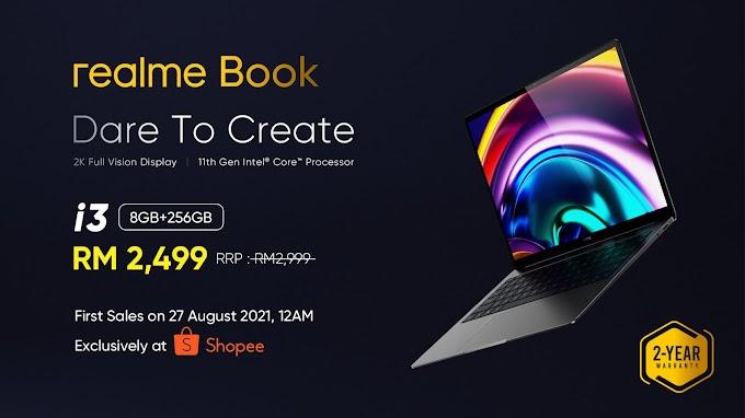 Realme Book Now Officially In Malaysia