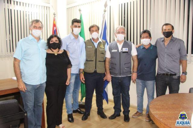 Juquiá recebe visita dos ministros do turismo e da saúde