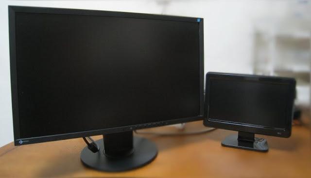 fujitsu-screen-environment-2-筆電、PC 外接這台螢幕無法成功的原因,在於螢幕解析度設定錯誤