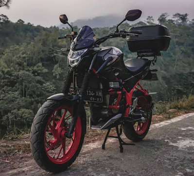 Modifikasi Motor Cbr 150r Touring
