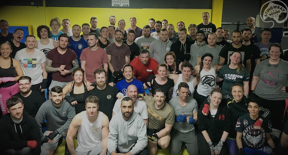 FitBits | Stingwray Boxing Ultra White Collar Brighton
