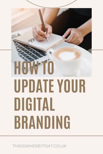 How to update your digital branding