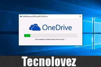 Windows 10 - Come rimuovere completamente OneDrive