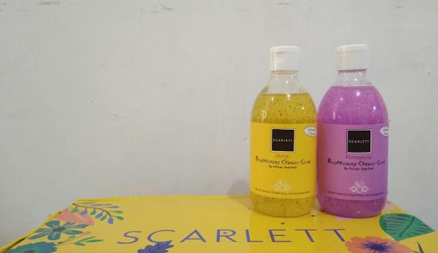 Shower scrub scarlett whitening