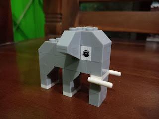 Cara membuat lego gajah