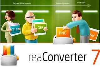 ReaConverter Pro 7-581 تحويل وتغيير حجم ملفات الصور