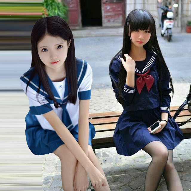 Японки — такие разные, но такие одинокие [фотоколлаж автора]