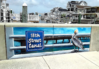 Street Art at 18th Street Canal in North Wildwood
