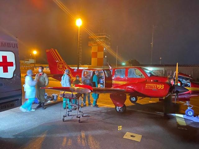 Rondônia retribui apoio e recebe pacientes com covid-19 do Mato Grosso do Sul para tratamento no Hospital de Campanha