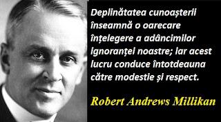 Citatul zilei: 22 martie - Robert Andrews Millikan