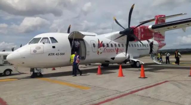 Penerbangan Pesawat Transnusa, Cancel Penerbangan 2 Hari Ke Selayar,