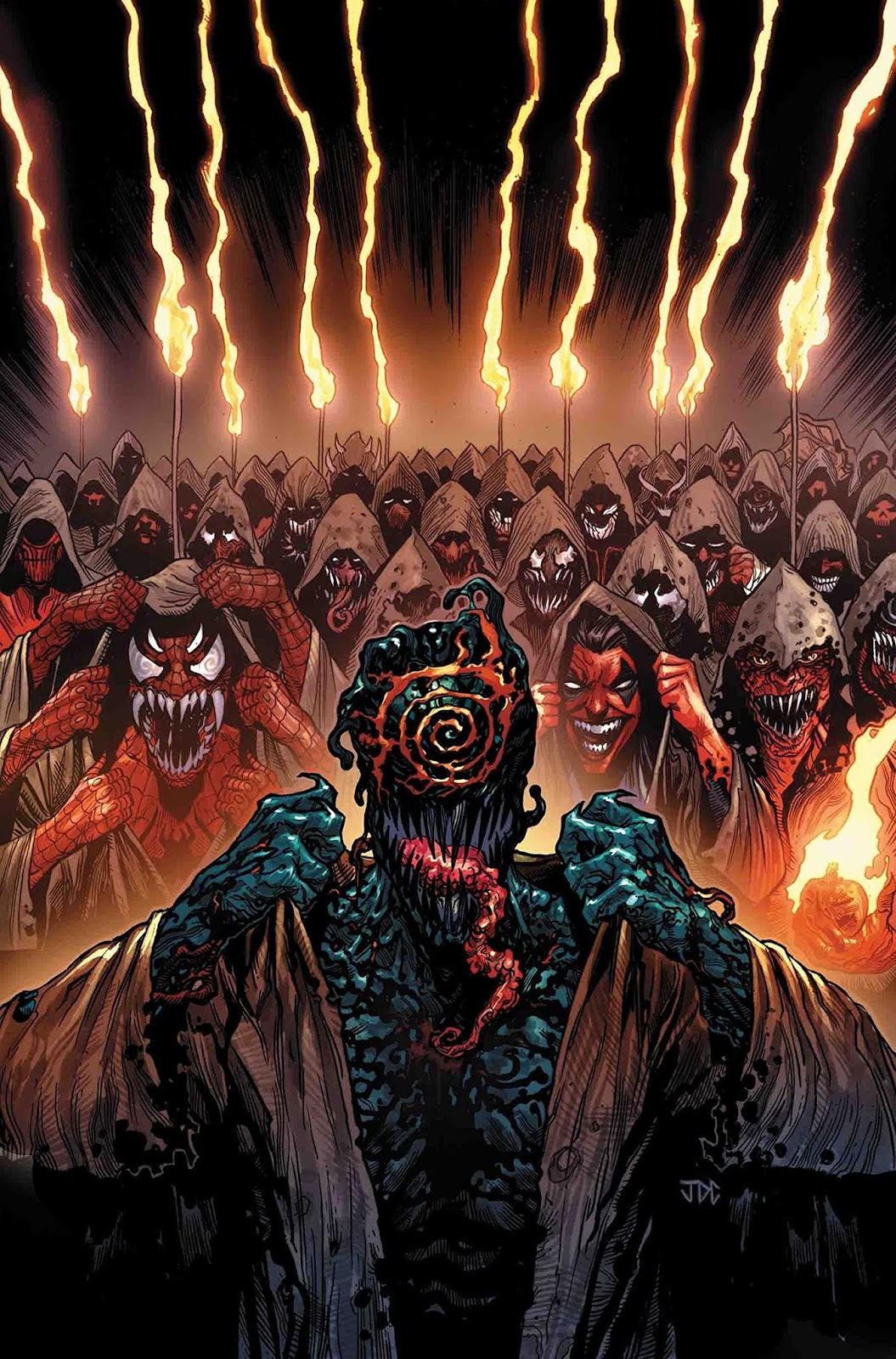Web of Venom: Cult of Carnage #1 Cover