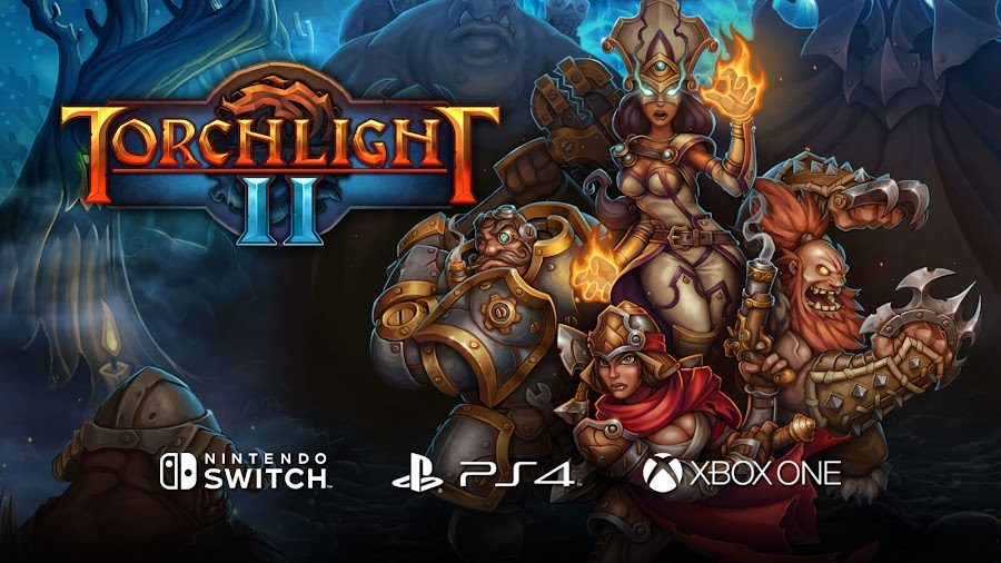torchlight 2 ps4 switch xbox runic games dungeon crawler action rpg