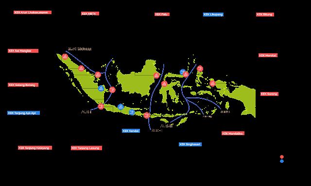 kawasan eknomi khususu di indonesia