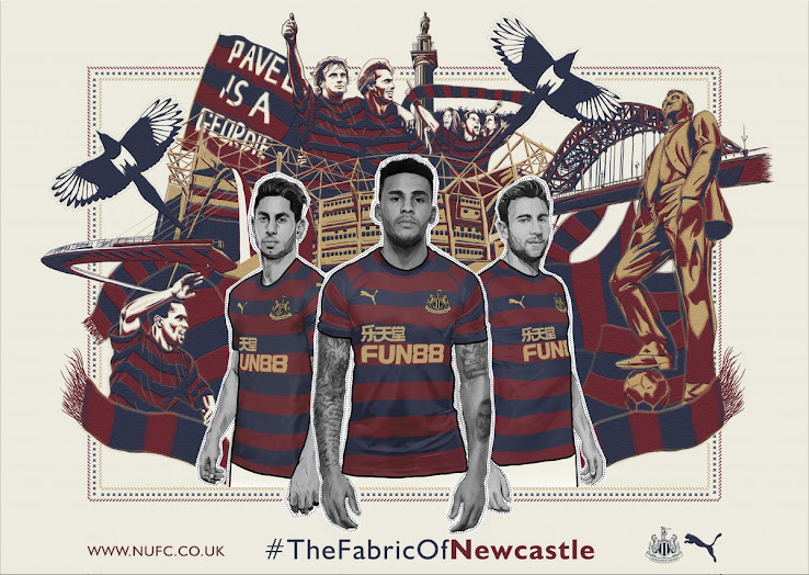 buy popular 5db7f a21e3 Newcastle 18-19 Away Kit Revealed - Footy Headlines