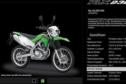 Kawasaki KLX230 Suguhan Kawasaki Bagi Yang Doyan Touring & Advanture