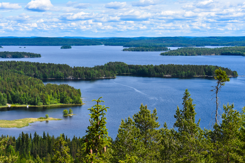 اجمل بحيرات فنلندا