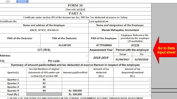Benefits of Form 16 TDS Certificate with Automated Form 16 Part B and Part A and B for the Financial Year 2016-17 and Assessment Year 2017-18