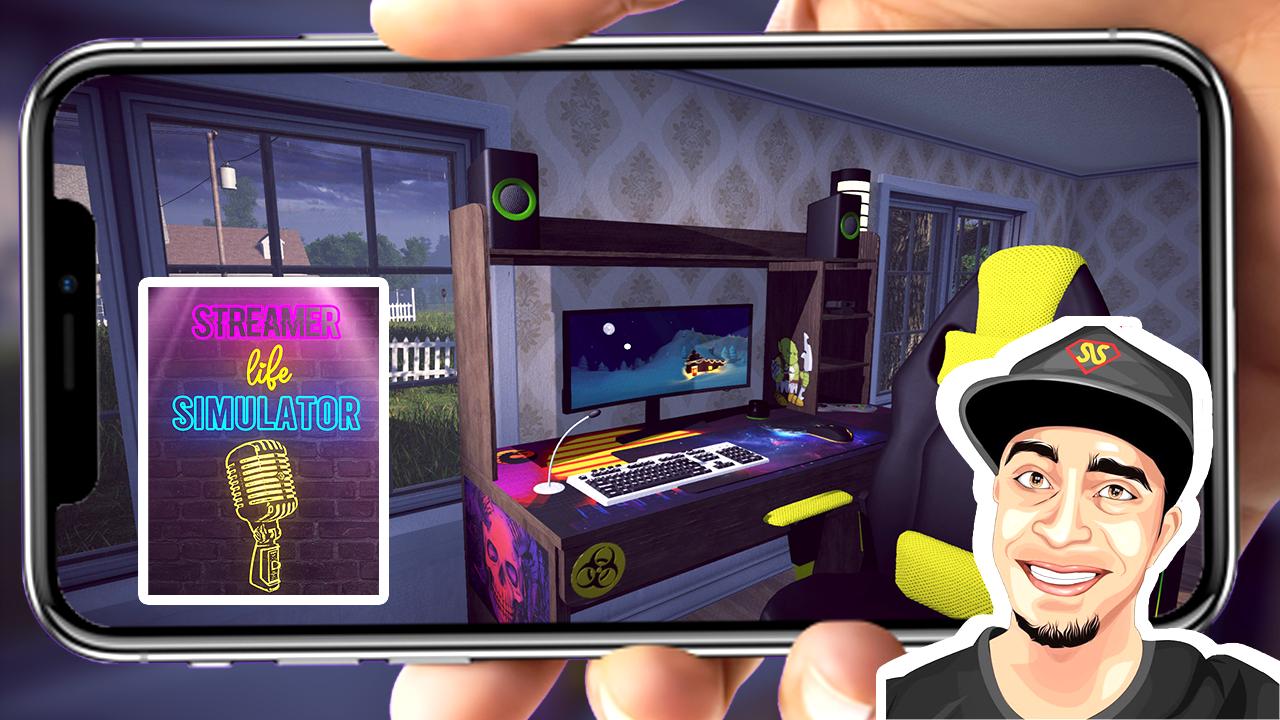 تحميل لعبة محاكي اليوتوب streamer life simulator أخر تحديث للاندرويد