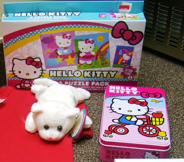 Hello Kitty Themed Operation Christmas Child Shoe Box Gift kitty & toys