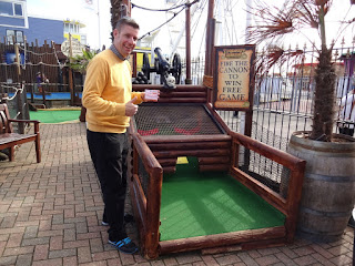 The lucky last hole at Treasure Island Adventure Golf in Southsea