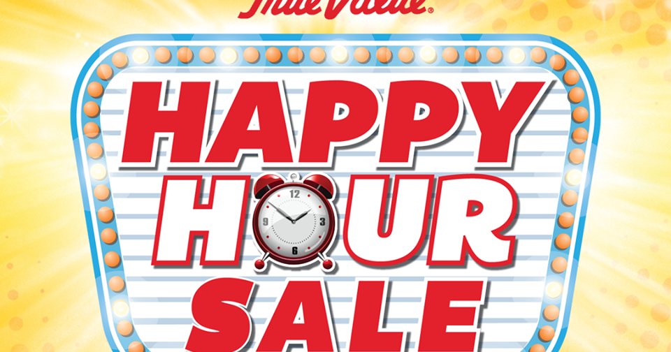 Manila Shopper: True Value Happy Hour Sale: April 1 2016