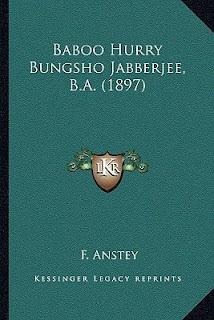 Baboo Jabberjee, B.A. Ebook F. Anstey