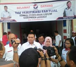 Ketua Perindo : Jangan Ada Tebang Pilih Penertipan APK