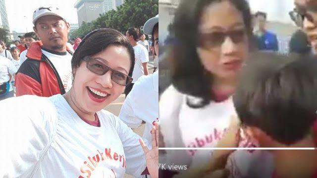 Susi Ferawati, Ibu Yang Dipersekusi Oleh Massa kaos #2019gantipresiden Akhirnya Buka Suara