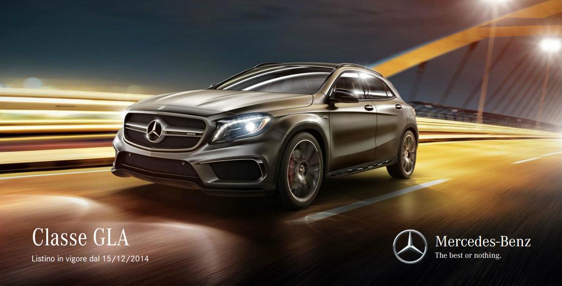 Prezzi Optional Mercedes GLA: quanto costano?