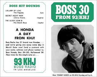 KHJ Boss 30 No. 35 - Tommy Vance