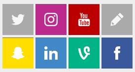Redes disponibles en SocialPubli